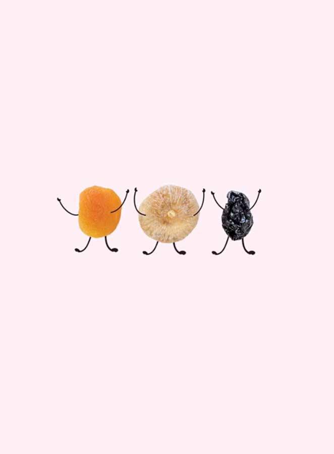 Las frutas deshidratadas, el mejor sustitutivo de las golosinas