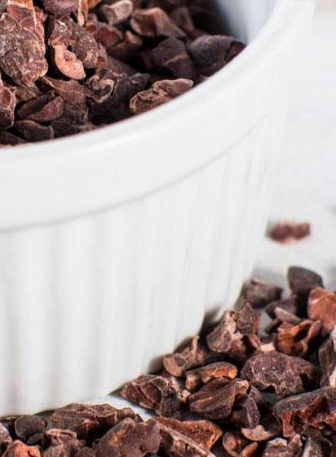 Nibs de cacao, el superalimento más sabroso