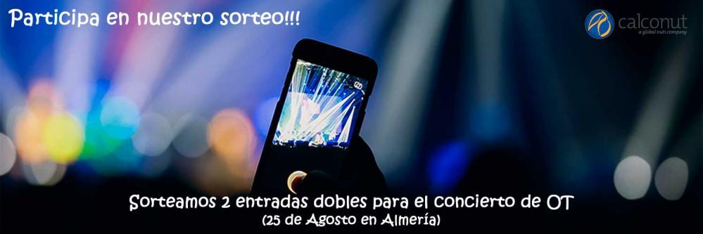 Sorteo de dos entradas dobles para el concierto Operación Triunfo en Almería