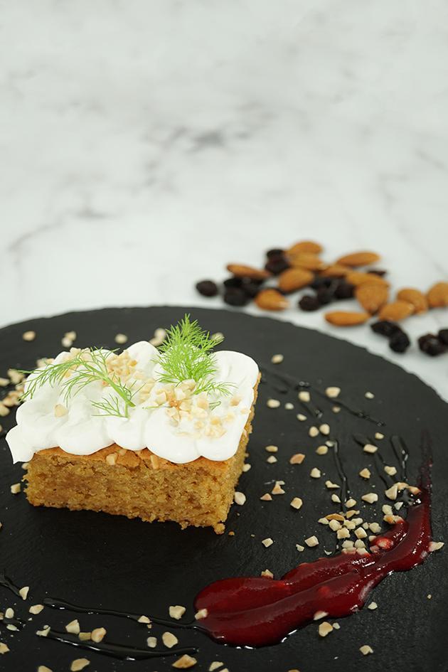 Gâteau aux amandes sain