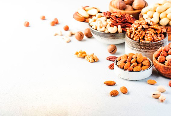 Nüsse mit mehr Proteinen