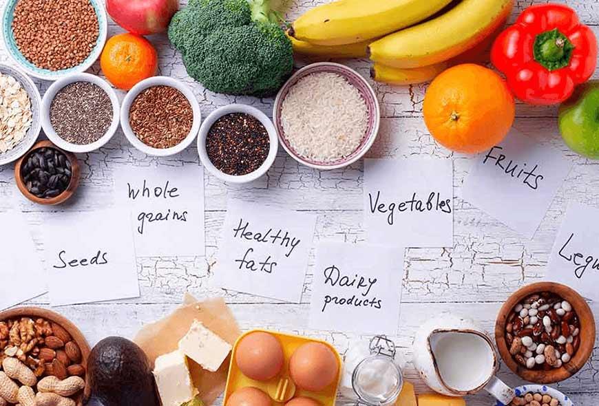 dietas equilibradas y sanas